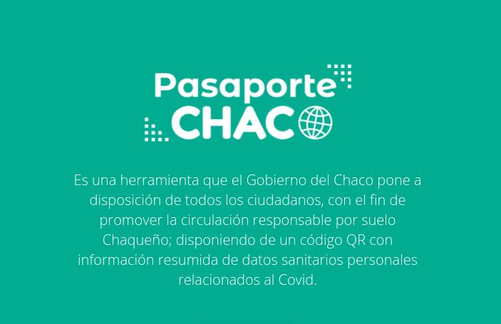 Pasaporte Chaco